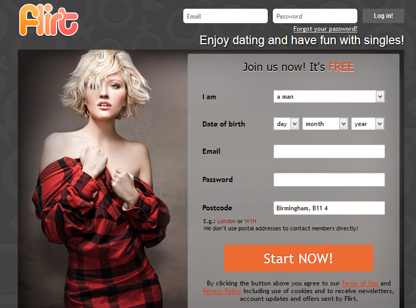 Flirt Adult Dating Site