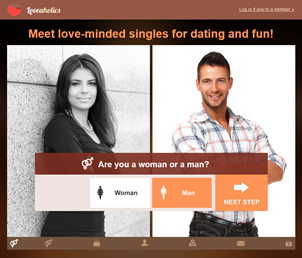 LoveAholics Adult Dating Site