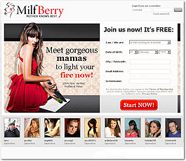 MilfBerry Adult Dating Site