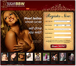 SugarBBW Adult Dating Site