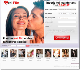 VraiFlirt Adult Dating Site