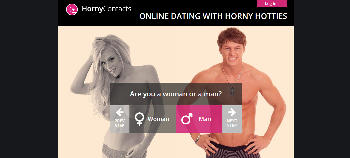 HornyContacts Mobile Dating Site Review