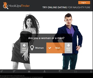 HookupsFinder Mobile Dating Site Review