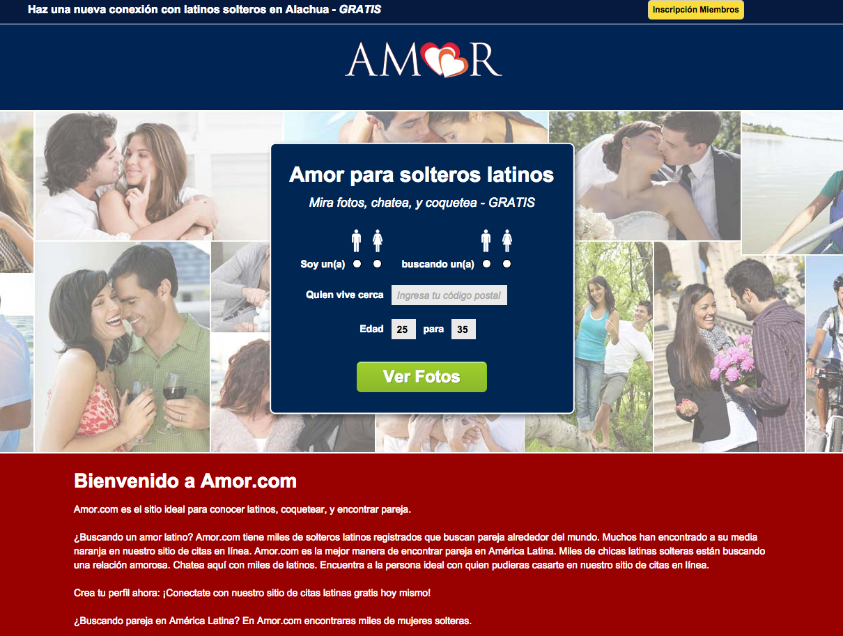 Amor Dating Site