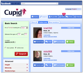 Cupud FaceBook Dating Apps