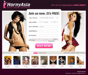 Horny Asia Dating Site