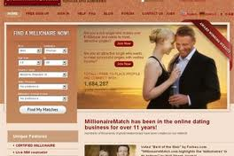 MillionaireMatch Dating Site